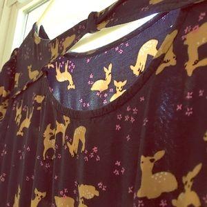 Delightful deer dress! 14/16